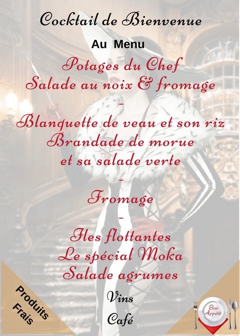 Menu site rencontre