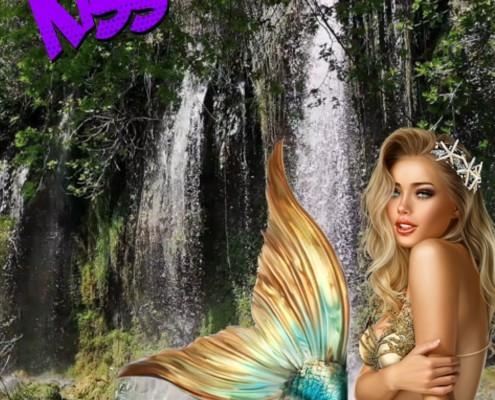 Waterfall Zoom Video Virtual Background